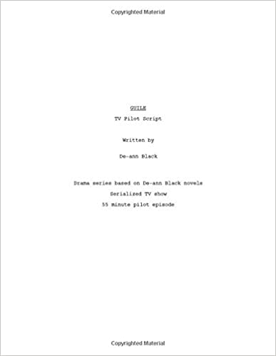 Lataa PDF-tiedostoja ilmaiseksi GUILE - TV Pilot Script by De-ann Black RTF