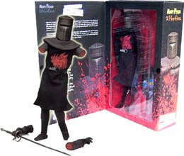 JOHN-CLEESE-AS-THE-BLACK-KNIGHT-12-Inch-Monty-Python-and-the-Holy-Grail-2002-Sideshow-Toy-Collectible-Action-Figure