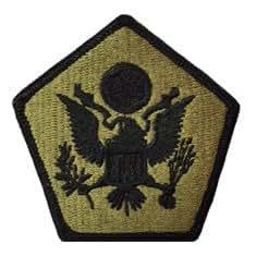Amazon.com: Headquarters Company US Army Multicam Patch ...