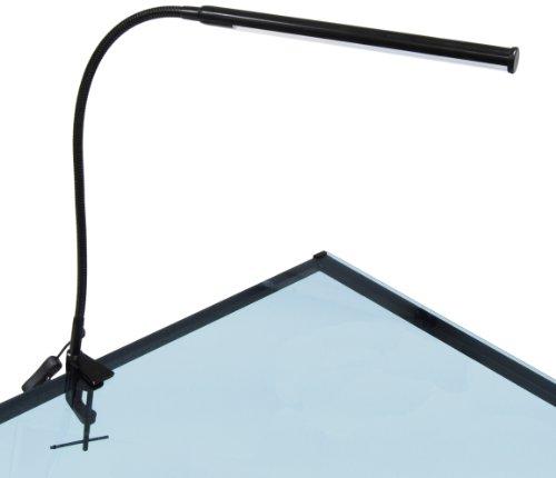 Steel Studio Easel (Studio Designs LED Bar Lamp - Black)