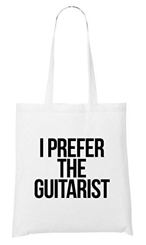 I Prefer The Guitarist Bag White VfRttwZEz
