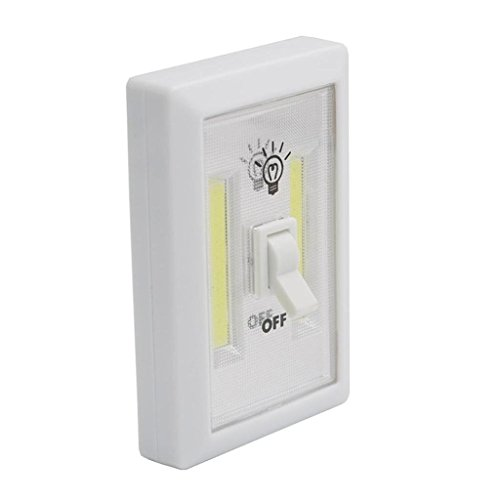 Battery Operated LED Night Light,Super Bright 350 Lumen COB LED,Cordless Light Switch Magnetic Sticker for Wardrobe Kids Reading Bed Lamp Kitchen Garage Camping Emergency Light