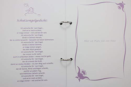 Taufbuch Taufalbum Din A5 Lebensbaum Mädchen Geschenk Zur Taufe Geburt Taufgeschenk Erinnerungsalbum