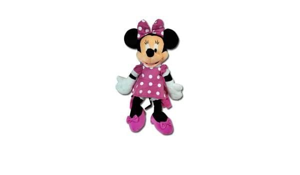 Amazon.com: Pink Minnie Mouse Plush Backpack - Disney Minnie Plush Backpack: Toys & Games