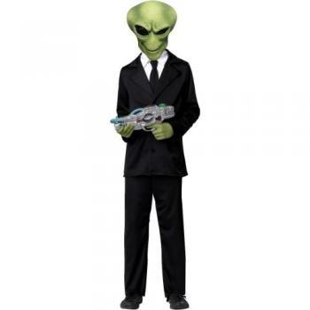 California Costumes Alien Agent Child Costume, Large