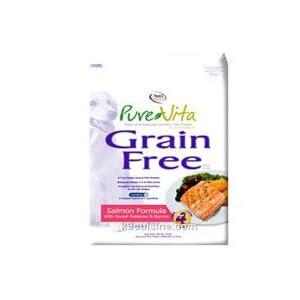 PureVita Salmon and Peas Grain-Free Dog Food 5Lbs 107