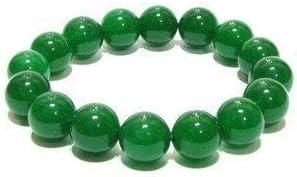 Natural AAA brazalete de jade verde y Rose pulsera del estiramiento de la pulsera de cuarzo   7-7,5