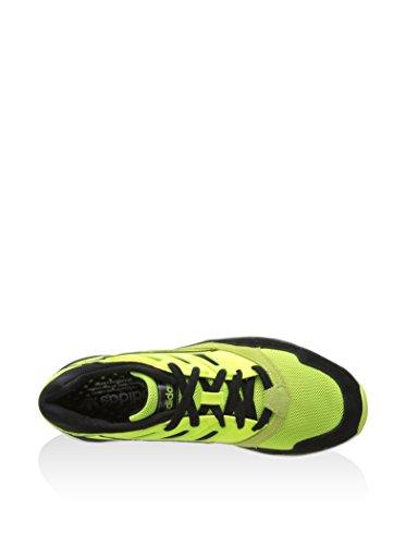 Adidas torsion allegra x chaussures mode homme noir jaune Adidas