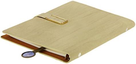 Notizbuch A5 Journalbuch PU Leder Tagebuch nachfüllbar Spiralbuch mit Lesezeichen Travel Diary Sketchbook für Büro Und Universität Geschenk von Freunden