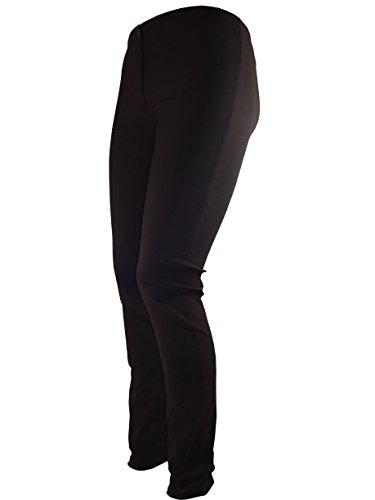 pantalones ajustados Negros para mujer marrón