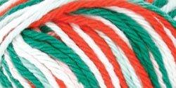 Creme Ombre Yarn - Red Heart Creme de la Creme-Christmas Ombre