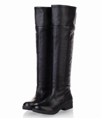 my of 10 24 two boots black Attack japan all black cosplay Yes Legion Titan Scouting size import on 5cm bk long colors shoes 39 SqrwSZ6p