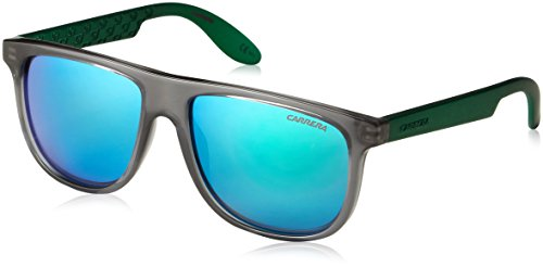 Carrera Carrerino 13/S Sunglasses CARRE13S-0MAT-Z9-5014 - Gray Green Frame, Green Multilayer - Kids - Sunglasses For Kids Carrera