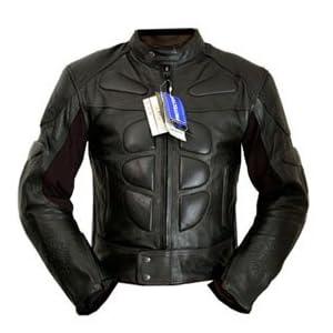 4LIMIT Sports biker blouson moto >>streetbandit<< veste en cuir noir