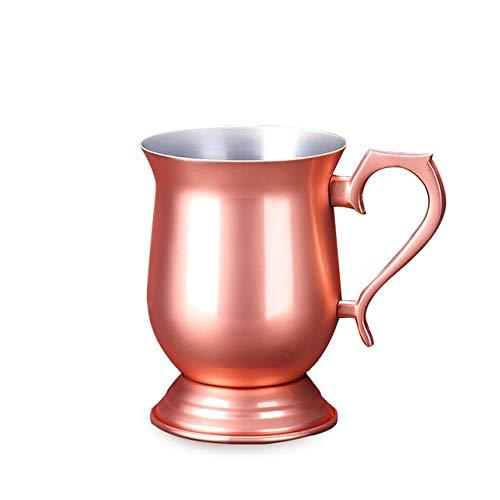 340ml Stainless Steel Cup Moscow Mug Mule Mug Mug Plated Blue Copper Beer Blazer
