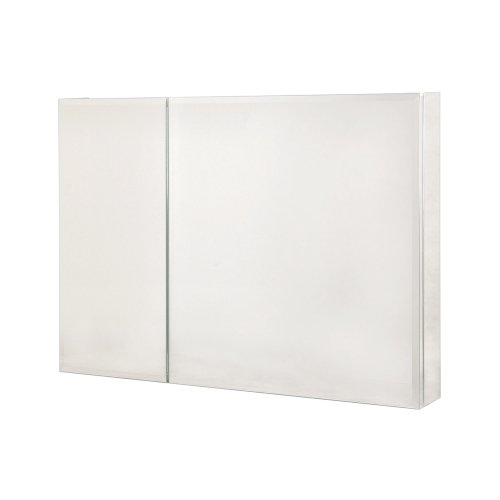 Pegasus SP4585 26-Inch by 36-Inch Bi-View Beveled Mirror Medicine Cabinet, Clear