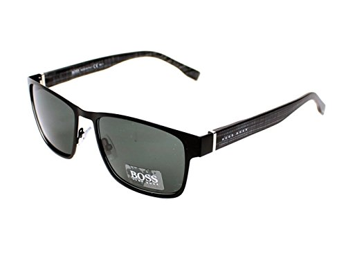 Hugo Boss 0769/S QMM Matte Black 0769/S Wayfarer Sunglasses Lens Category 3 - Bass Sunglasses