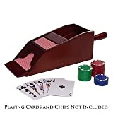 #5: 6 Deck Wooden Blackjack Card shoe