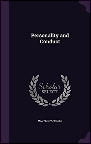 Book Personality and Conduct
