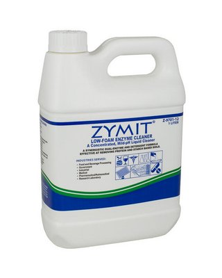 Z-9701-12 - 1 L - Zymit Low-Foam Enzyme Cleaner, International Products - Case of 1