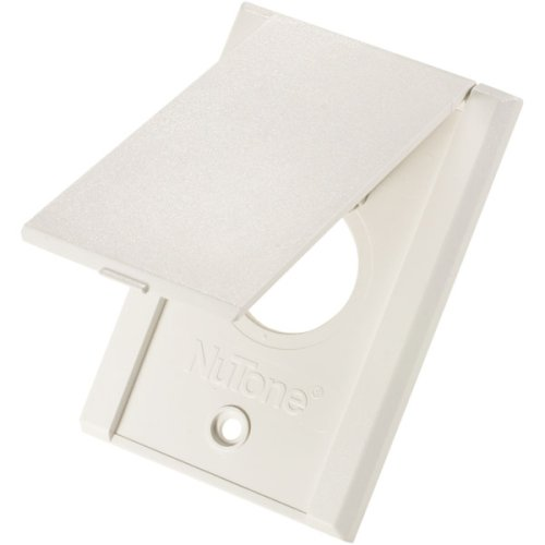 Bracket Nutone Mounting (White Standard Vac Inlets)