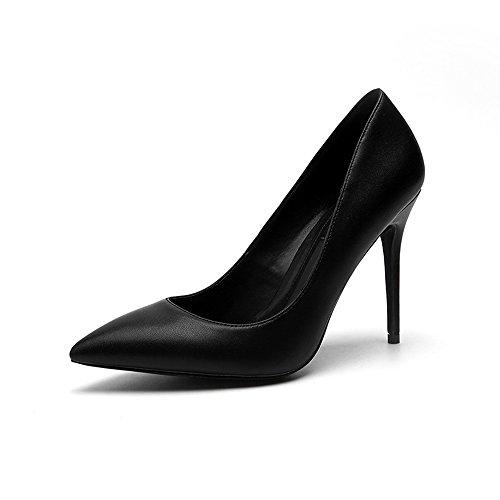 Black8cm Elegantes De Tama Black10cm 10 Acentuados Negro O Profesionales Zapatos Bien Primavera Altos 38 Se Mates Oras Cm Tacones Color Con 8 Cm tZHwBUxBq