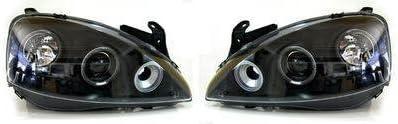 18026 Storm Xccessories Vauxhall Corsa C 3-DR 2000-2005 Wind Deflectors//Rain Shields FRONT SET INTERNAL FIT