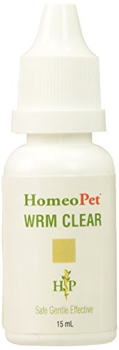 Homeopet Remedies Warm Clear 15 ml