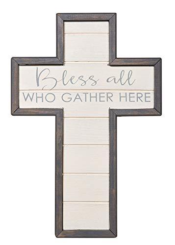 CB Gift Faithworks-Spiritual Harvest Wall Cross 12-Inch Bless All - Harvest Cross