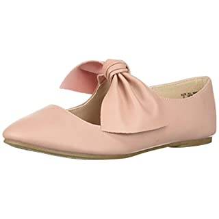 The Children's Place Girls' Bow Flat, Pink-Ballet 3, Youth 1 M US Little Kid
