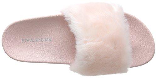 Steve Madden Softey Slipper, Pantuflas para Mujer Rosa (Pink)