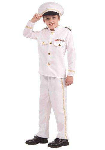(Forum Novelties Navy Admiral Costume,)