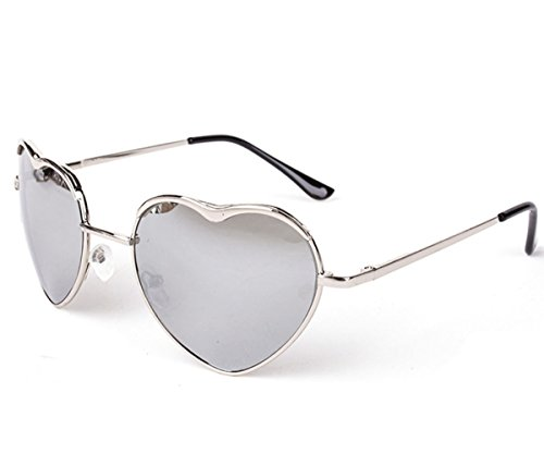 Heartisan Personality Heart Shaped Rimmed Frame Anti-UV Sweet Sunglasses - Square Mall Melbourne Stores