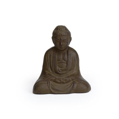 Cast Iron Sitting Buddha