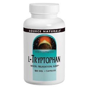 Source Naturals L-tryptophane 500 mg, 120 comprimés