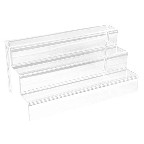 "Clear Acrylic Display Riser Stand ~ 18"" x 9"" x 9"""