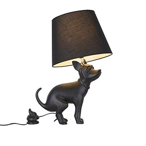 Creative resin craft Animal shaped table lamp table table table warm and elegant design, simple shape max. E27, height 66 cm, multi-angle swing arm shop villa clubhouse bar cafe, dining room etc, B07HGX188L | Elegant und feierlich  d00d38