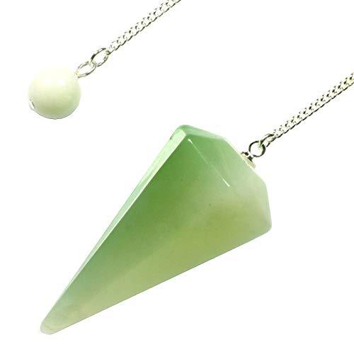 - New Jade Crystal Pendulum