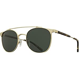Raen Raleigh Polarized Aviator Sunglasses, Brindle, 51 mm
