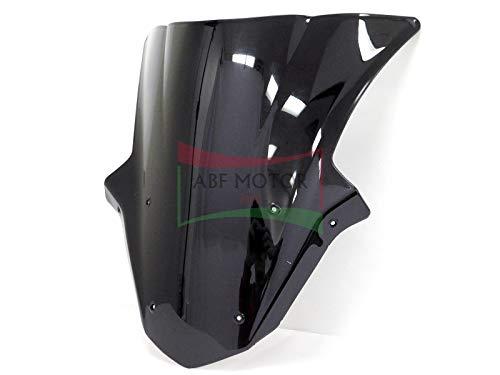 Protek ABS Plastic Injection Black Smoke Double Bubble Transparent Windscreen Windshield for 2011 2012 2013 2014 2015 Kawasaki Ninja ZX10R ZX1000 ZX1000J ZX1000K