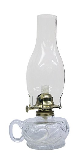 Glass Kerosene Oil Lamp - 8