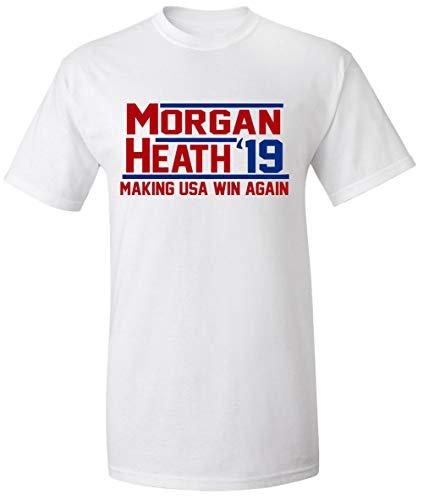 Shedd Shirts White USA USWNT Morgan Heath 19 T-Shirt Youth