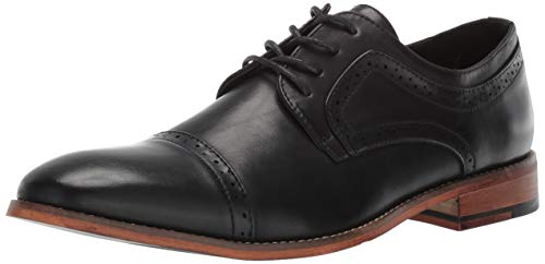 Unlisted by Kenneth Cole Men's Cheer Lace Up Oxford, Black, 10.5 M US