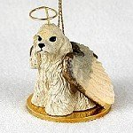 Cocker Spaniel Blonde Pet Angel Ornament