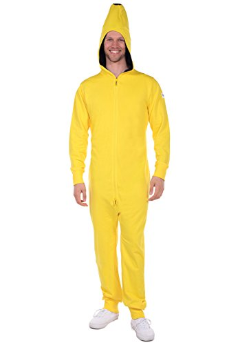Tipsy Elves Men's Banana Halloween Costume - Banana