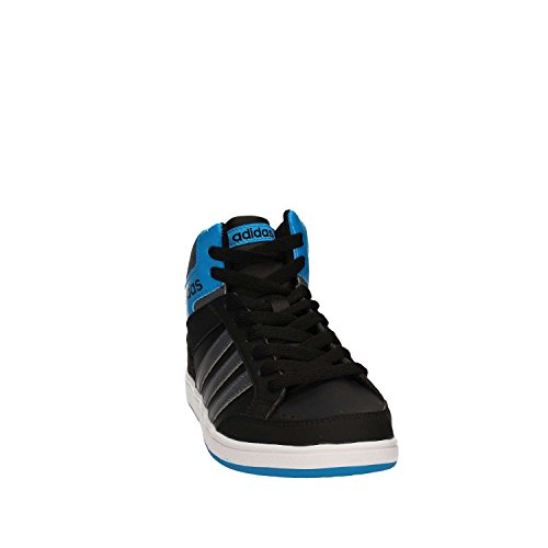 adidas HOOPS MID K - Zapatillas deportivaspara niños, Negro - (NEGBAS/ONIX/AZUSOL), -6