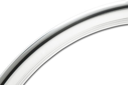 Coker Tire 3006-15 Trim Ring 15 Inch Hot Rod Ribbed by Coker Tire (Image #2)