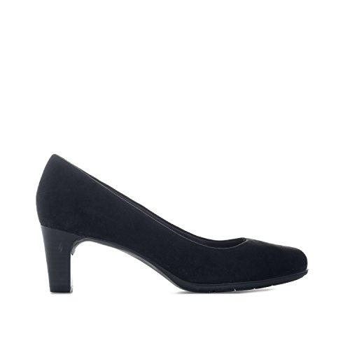 Rockport Womens Total Motion Melora Suede Shoes in Black