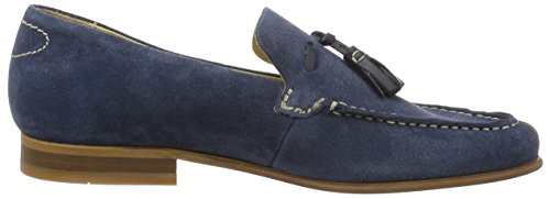 Hudson Men's Bernini Suede Navy Loafers Blue (Navy 025) u3X8JanE4e