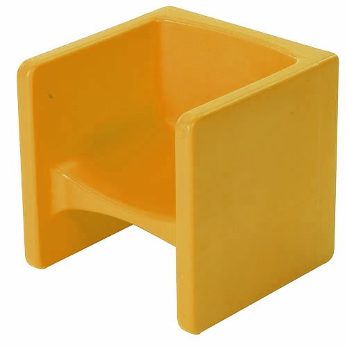 Chair Cube - Yellow by Children's Factory